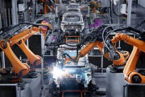 a car manufacturing line