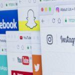 Social media websites on the browser