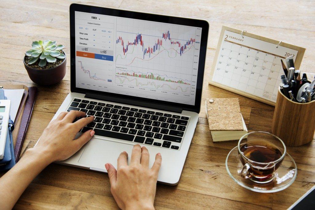 using online banking platform